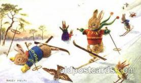 dan002049 - Artist Racey Helps, Dressed Animal Postcard Post Card