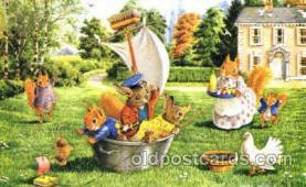 dan002055 - Artist Racey Helps, Dressed Animal Postcard Post Card