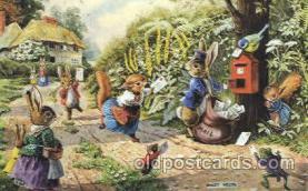 dan002085 - Artist Racey Helps, The Medici Society Ltd. London, Fantasy, Postcard Post Card