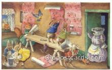 dan002128 - Racey Helps Post Card, Artist Signed Post Card Old Vintage Antique, PK 287