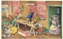 dan002129 - Racey Helps Post Card, Artist Signed Post Card Old Vintage Antique, PK 287