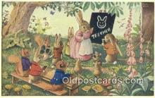 dan002130 - Racey Helps Post Card, Artist Signed Post Card Old Vintage Antique, PK 252