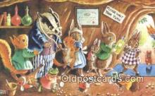 dan002156 - Racey Helps Post Card, Artist Signed Post Card Old Vintage Antique, PK 349