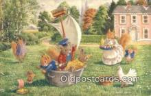 dan002159 - Racey Helps Post Card, Artist Signed Post Card Old Vintage Antique, PK 350