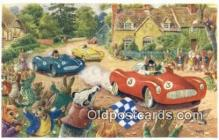 dan002169 - Racey Helps Post Card, Artist Signed Post Card Old Vintage Antique, PK 295