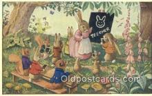 dan002171 - Racey Helps Post Card, Artist Signed Post Card Old Vintage Antique, PK 252