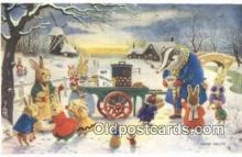dan002183 - Racey Helps Post Card, Artist Signed Post Card Old Vintage Antique, PK 227
