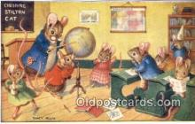 dan002189 - Racey Helps Post Card, Artist Signed Post Card Old Vintage Antique, PK 277
