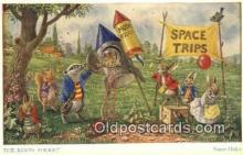 dan002190 - Racey Helps Post Card, Artist Signed Post Card Old Vintage Antique, PK 278