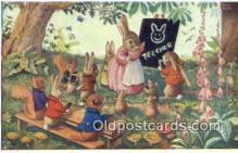 dan002208 - Racey Helps Post Card, Artist Signed Post Card Old Vintage Antique, PK 252