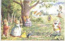 dan002209 - Racey Helps Post Card, Artist Signed Post Card Old Vintage Antique, PK 242