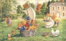 dan002224 - Racey Helps Post Card, Artist Signed Post Card Old Vintage Antique, PK 350