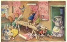 dan002239 - Racey Helps Post Card, Artist Signed Post Card Old Vintage Antique, PK 287