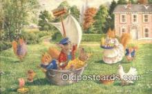 dan002253 - Racey Helps Post Card, Artist Signed Post Card Old Vintage Antique, PK 350