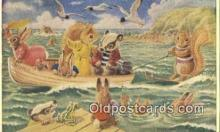 dan002255 - Racey Helps Post Card, Artist Signed Post Card Old Vintage Antique, PK 317