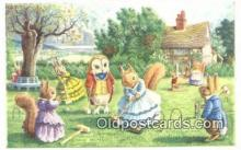 dan002260 - Racey Helps Post Card, Artist Signed Post Card Old Vintage Antique, PK 235