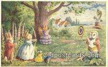 dan002262 - Racey Helps Post Card, Artist Signed Post Card Old Vintage Antique, PK 242