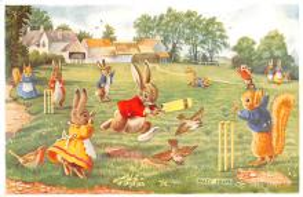 dan002338 - Dressed Animals Post Card