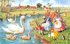 dan002364 - Dressed Animals Post Card