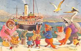 dan002365 - Dressed Animals Post Card