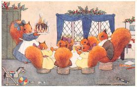 dan002367 - Dressed Animals Post Card