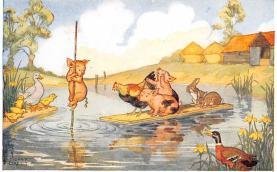 dan002371 - Dressed Animals Post Card