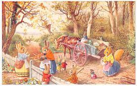 dan002372 - Dressed Animals Post Card