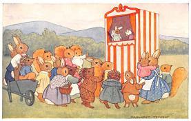 dan002373 - Dressed Animals Post Card