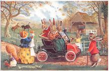 dan002385 - Dressed Animals Post Card
