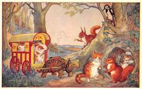 dan002396 - Dressed Animals Post Card