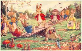 dan002397 - Dressed Animals Post Card