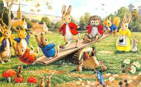 dan002401 - Dressed Animals Post Card
