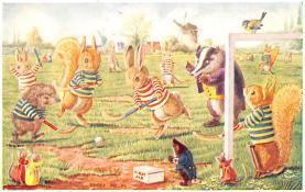 dan002410 - Dressed Animals Post Card