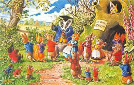 dan002413 - Dressed Animals Post Card