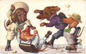 Dogs Roller Skating