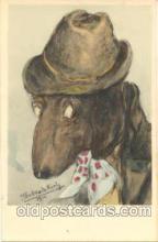 dan004005 - Dressed Animal Animals Postcard Post Card