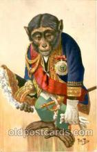 dan004009 - Arthur Thiele, Dressed Animal Animals Postcard Post Card