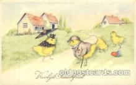 dan004020 - Dressed Animals, Chickens, Postcard Post Card