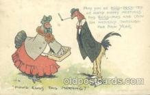 dan004024 - Dressed Animals, Chickens, Postcard Post Card