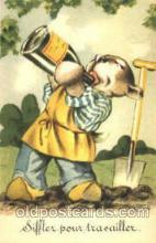 dan004035 - Dresses Dog, Dogs, Postcard Post Card