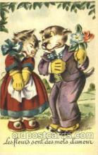 dan004039 - Dresses Dog, Dogs, Postcard Post Card
