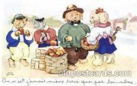 dan004042 - Dresses Dog, Dogs, Postcard Post Card