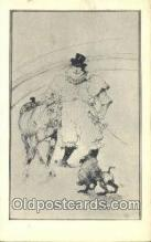 dan005042 - Henri De Toulouse - Lautrec, Artist Post Card Old Vintage Antique,