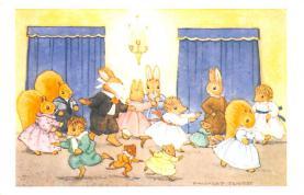 dan005053 - Dressed Animals Post Card