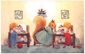 dan005054 - Dressed Animals Post Card