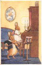 dan005055 - Dressed Animals Post Card