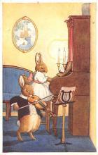 dan005056 - Dressed Animals Post Card