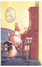 dan005057 - Dressed Animals Post Card