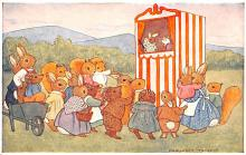 dan005059 - Dressed Animals Post Card