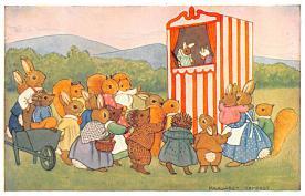 dan005062 - Dressed Animals Post Card